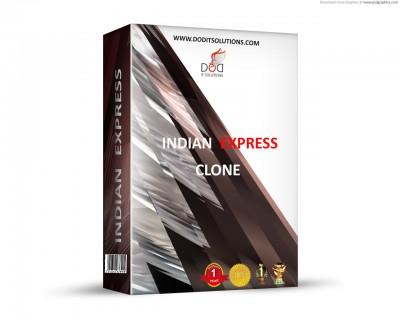 Indian Express clone